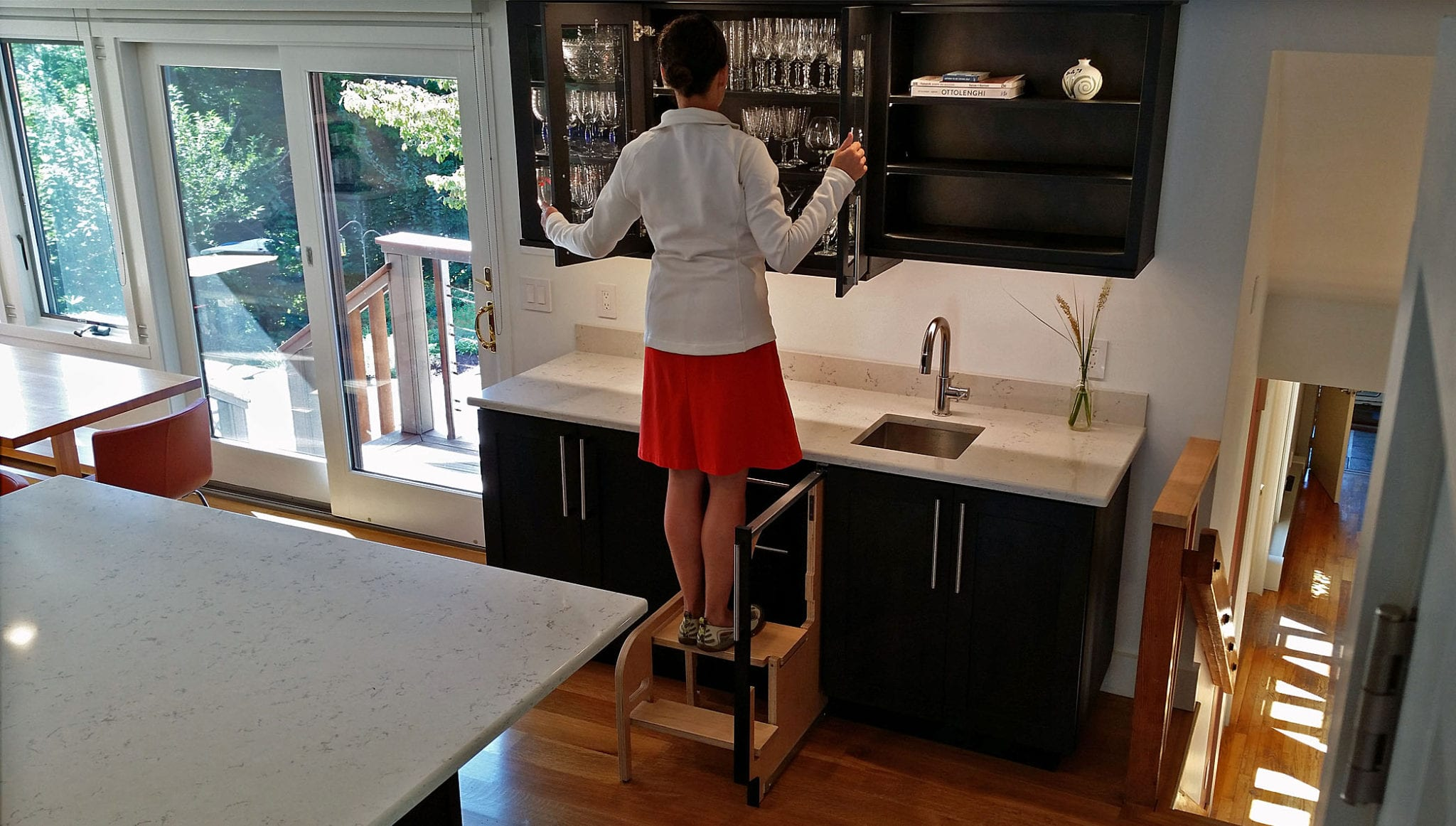 Pull Out Step Stool Hideaway Solutions